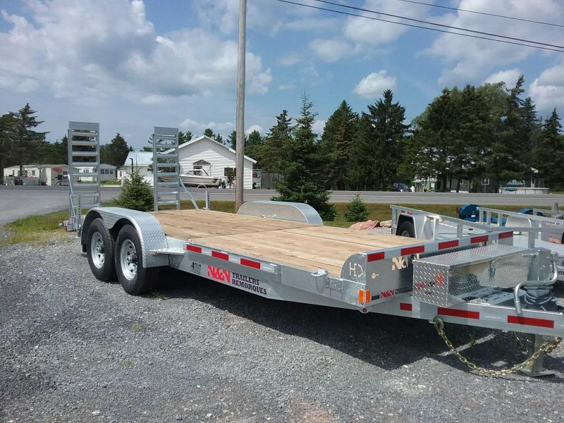 2019 N and N Trailers ICHHD20G14K Equipment Trailer