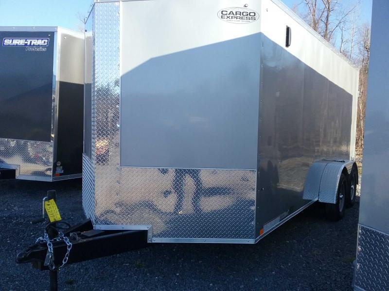 2021 Cargo Express CSCBC7.0X16TE2FF Enclosed Cargo Trailer