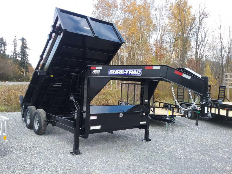2020 Sure-Trac 82 IN X 14 LP 14K Goose Scissor Dump