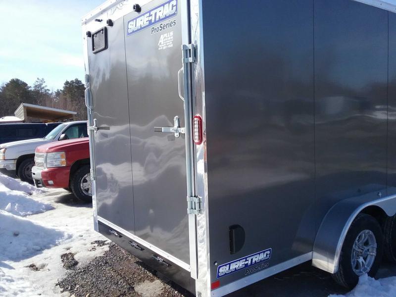 2020 Sure-Trac 7 x 16 Pro Series Bullnose Cargo TA 7K