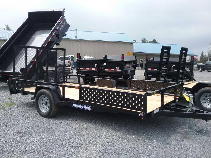 2019 Sure-Trac 7 X 14 Tube Top ATV  3.5K Brake