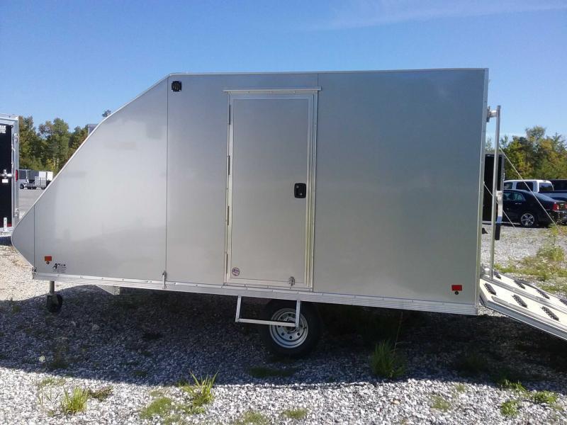 2020 SNOPRO Alcom HYBRID101X12-LM19 Snowmobile Trailer