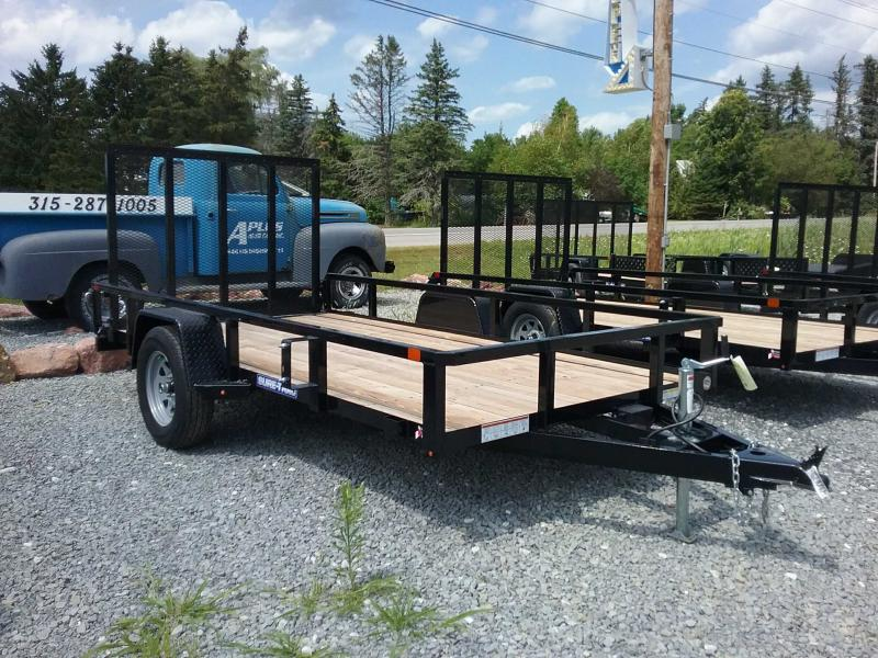 2019 Sure-Trac 6 X 12 Tube Top Utility  3.5K Brake