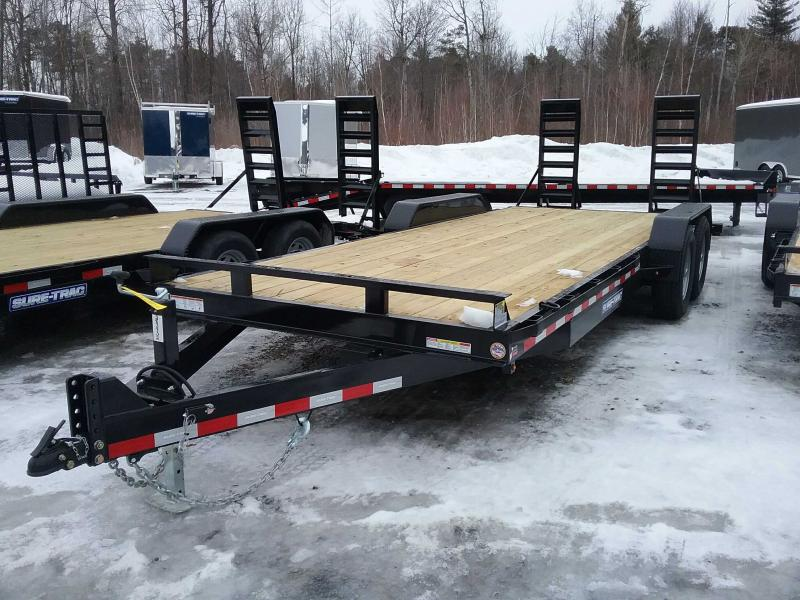 2020 Sure-Trac 7 x 20 Equipment Trailer  14K