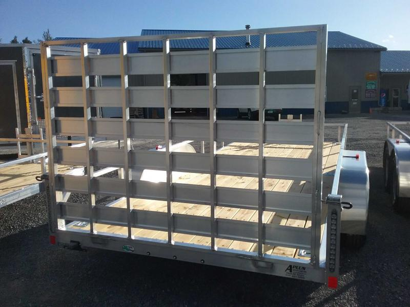 2020 Rance Aluminum Trailers 6.5x16 ROUGH RIDER Utility Trailer