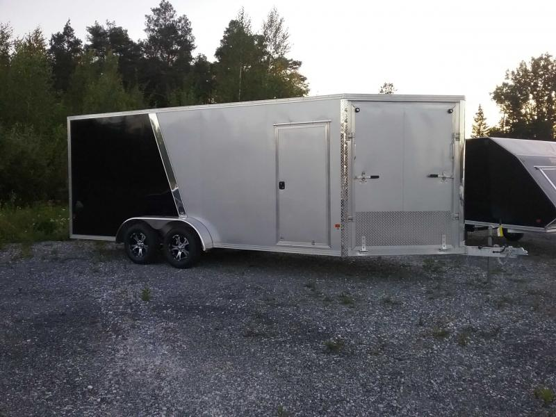 2020 Alcom-Stealth E7X18STEALTH Snowmobile Trailer
