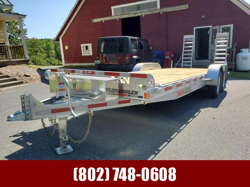 2020 N&N Trailers ICHHD24 Equipment Trailer 24' 14K GVW