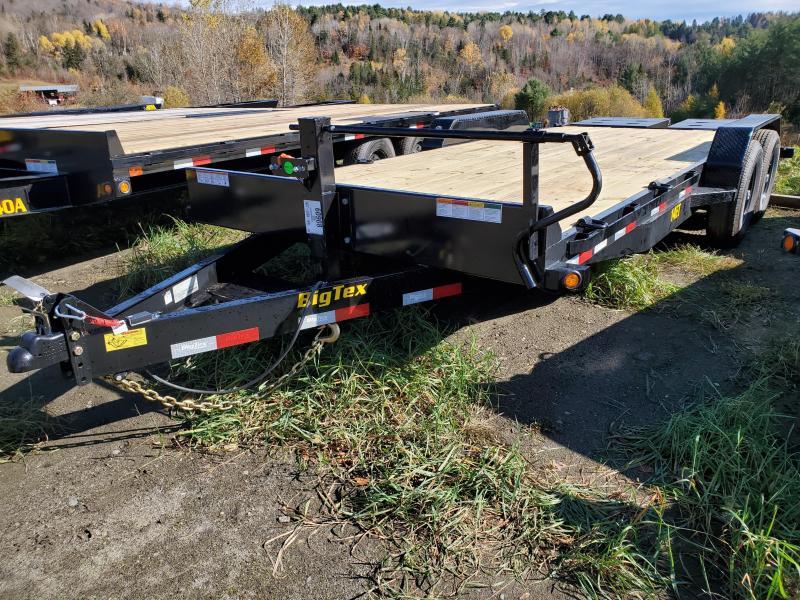 2020 Big Tex Trailers 14ET-20MR Equipment Trailer with Mega Ramps