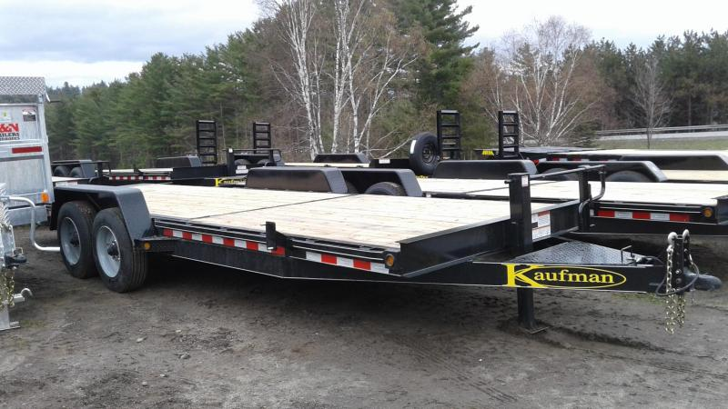 2020 Kaufman Trailers 17k Gvw Tilt Deck Equipment 22
