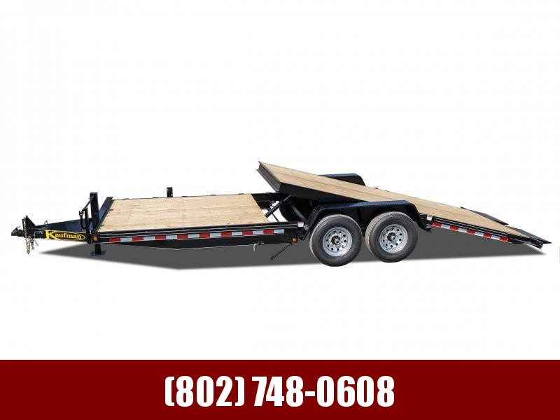 2019 Kaufman Trailers 17k GVW Tilt Deck Equipment 22'
