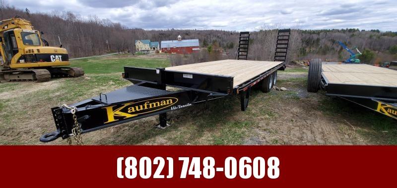 2020 Kaufman Trailers 8x22 Deckover Equipment Trailer
