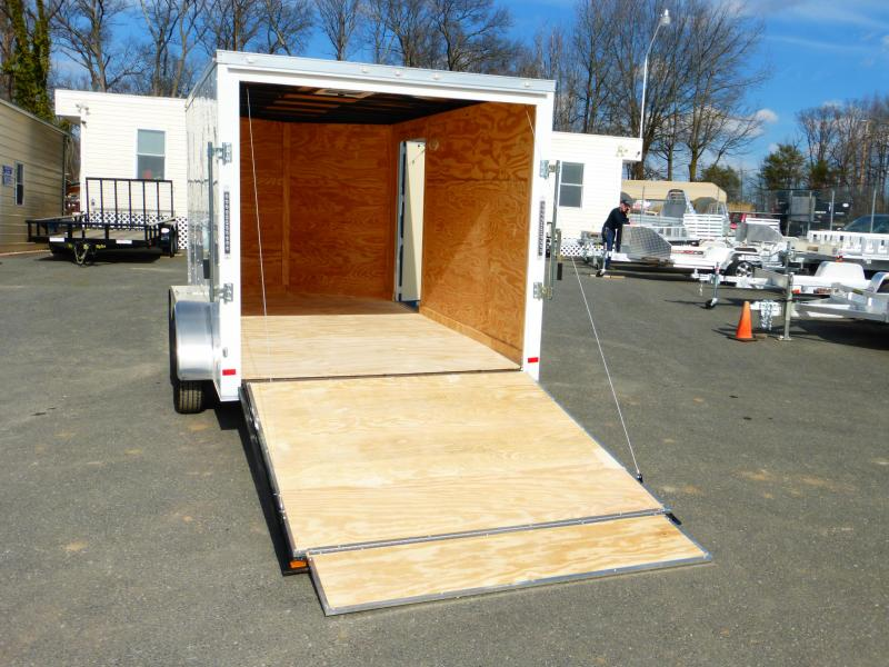 Covered Wagon  7' x 12' Enclosed Cargo Trailer