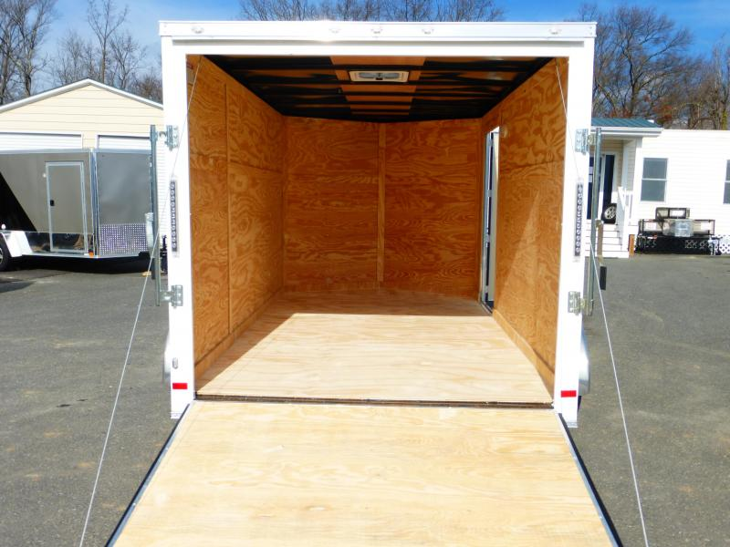 Covered Wagon  7' x 12' Enclosed Cargo Trailer w/Ramp