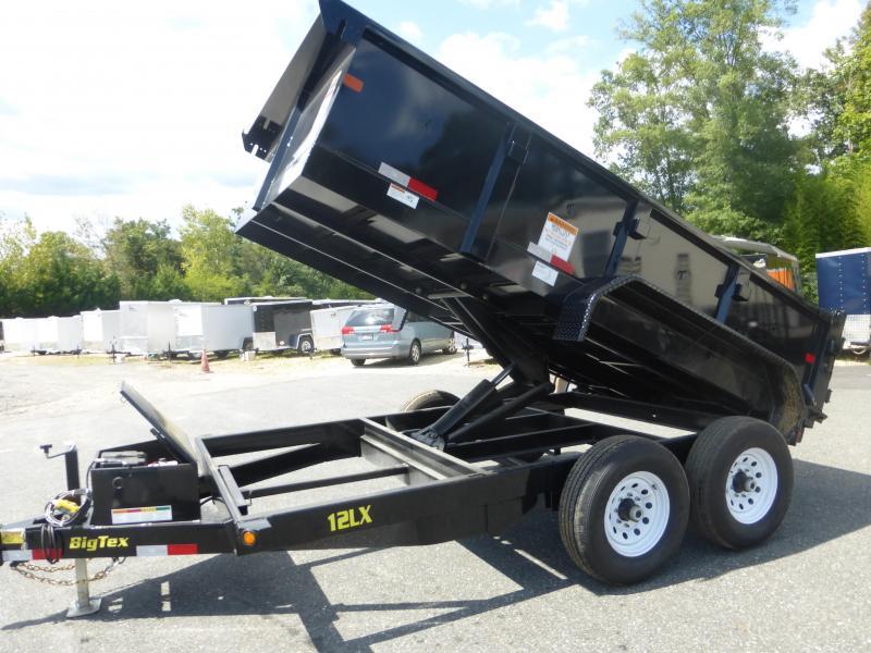 "Big Tex 7' x 12' x 24"" Dump Trailer"