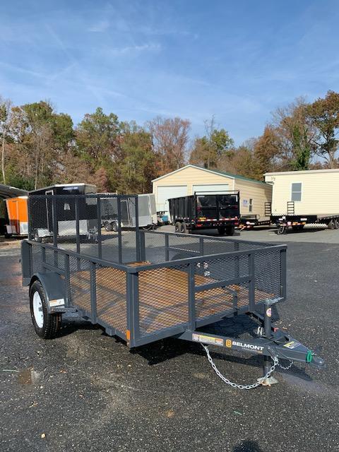 Belmont Machine 6' x 10' Utility Trailer w/ Mesh Sides