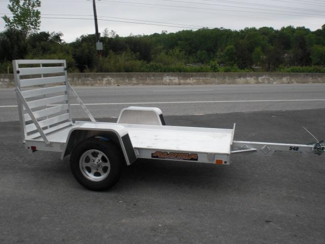 "Aluma 54"" x 8' Aluminum Utility Trailer"
