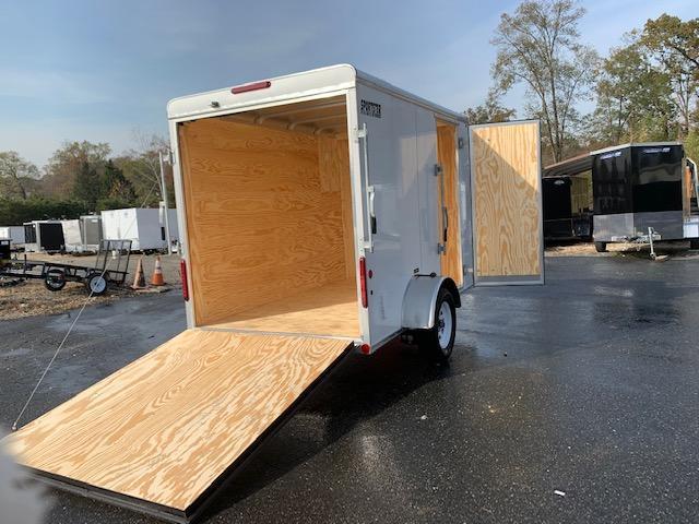 Car Mate 6' x 12' Enclosed Cargo Trailer