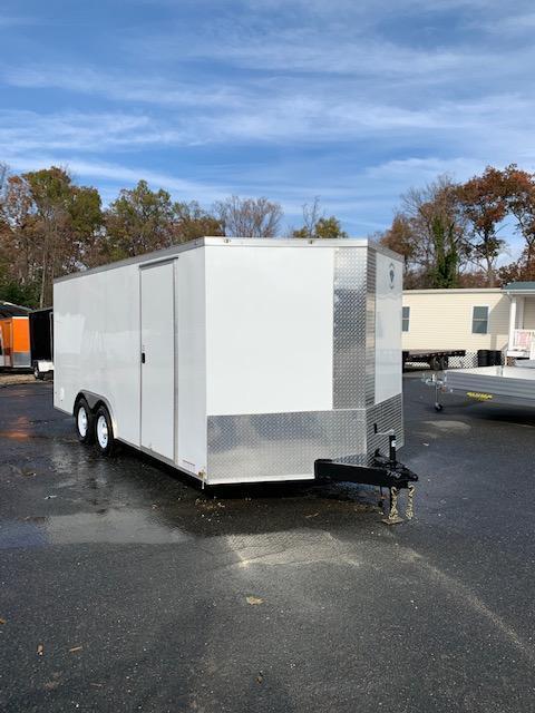 Diamond Cargo 8.5X18 Enclosed Car / Racing Trailer