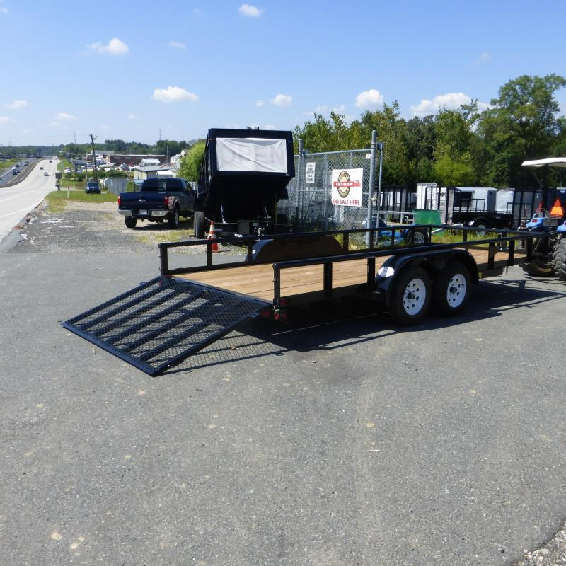 Big Tex Trailers 70PI18 Utility Trailer
