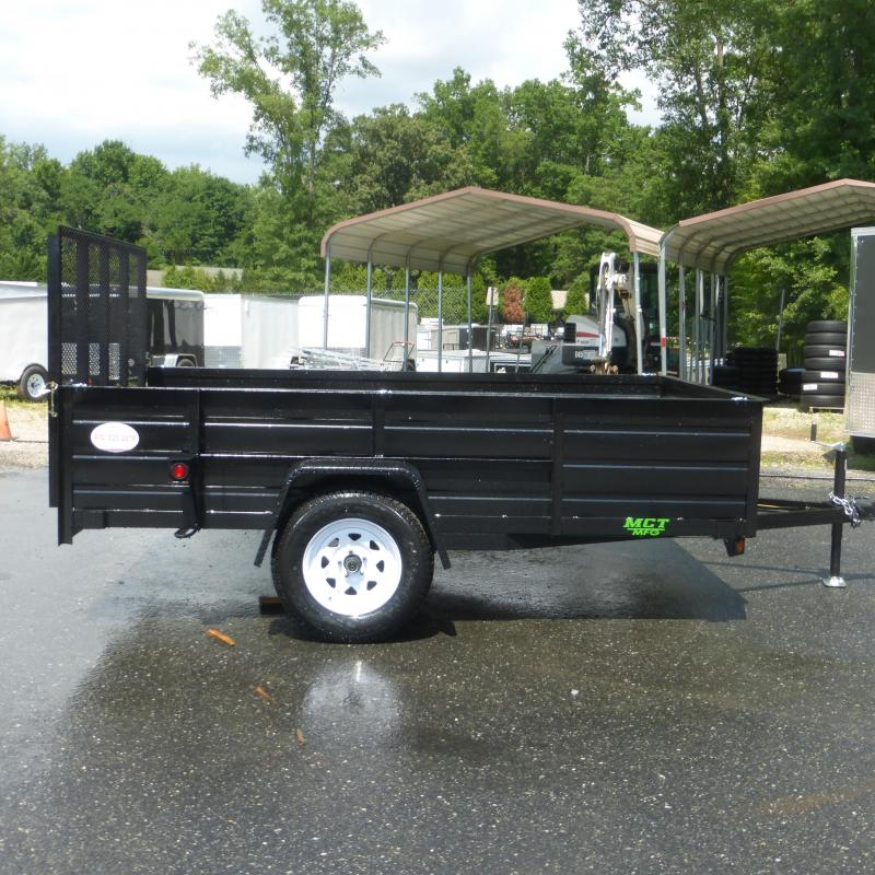 "MCT 6'4"" x 10' w/ 24"" Solid Sides Utility Trailer"