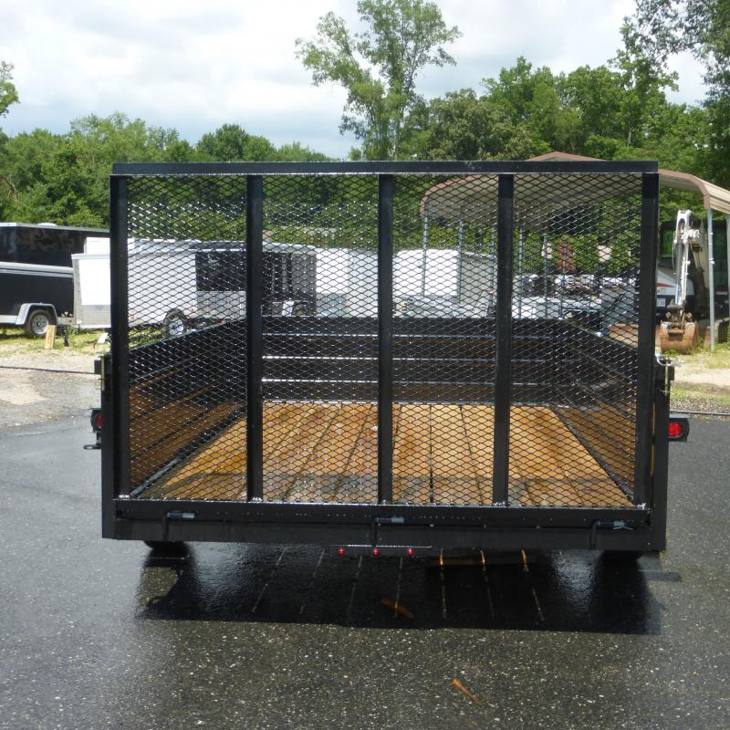 """MCT 6'4"""" x 10' w/ 24"""" Solid Sides Utility Trailer"""