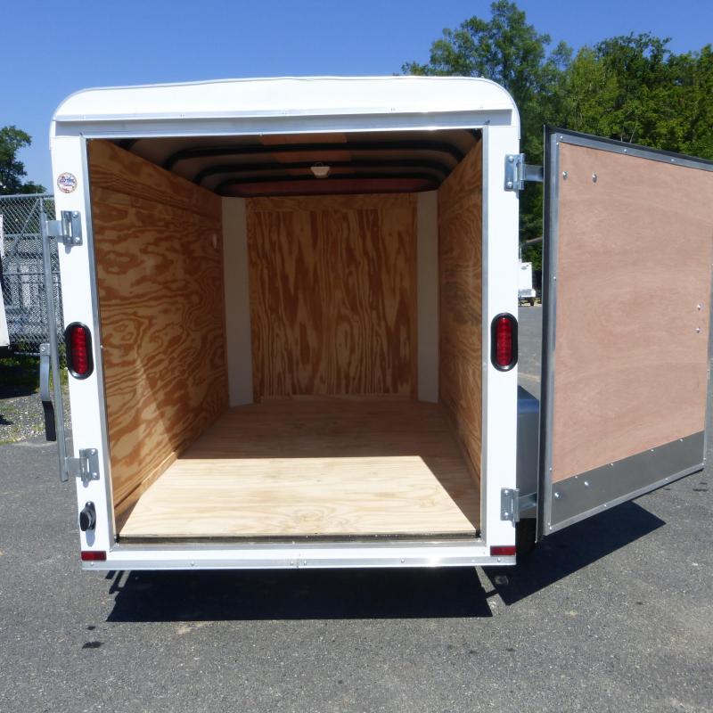 Lark 5' x 8' Cargo / Enclosed Trailer with Single Swing Door
