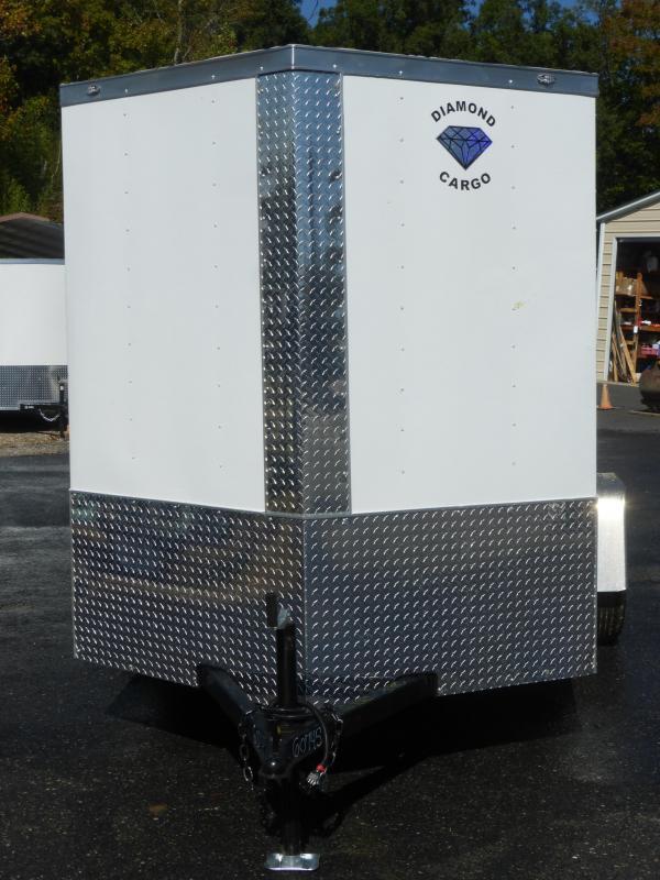 Diamond Cargo 6' x 12' Enclosed Trailer w/ Ramp