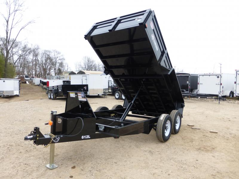"Bri-Mar 6' x 12' x 20"" Dump Trailer"
