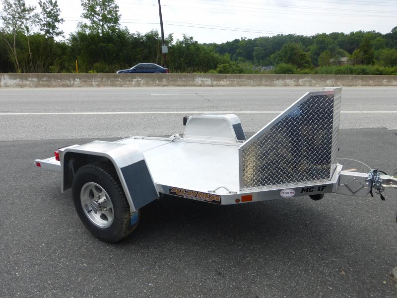 Aluma MC1F Folding Motorcycle Trailer 2K