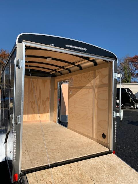 United 6' x 10' Enclosed Trailer with Ramp