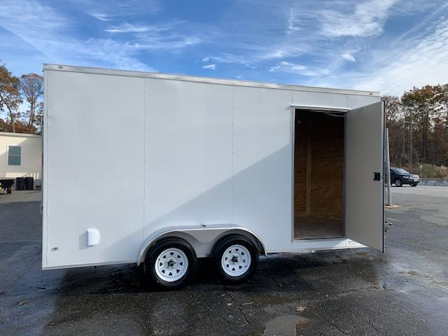 Diamond Cargo 7x16 Enclosed Cargo Trailer w/ Extra Interior Height