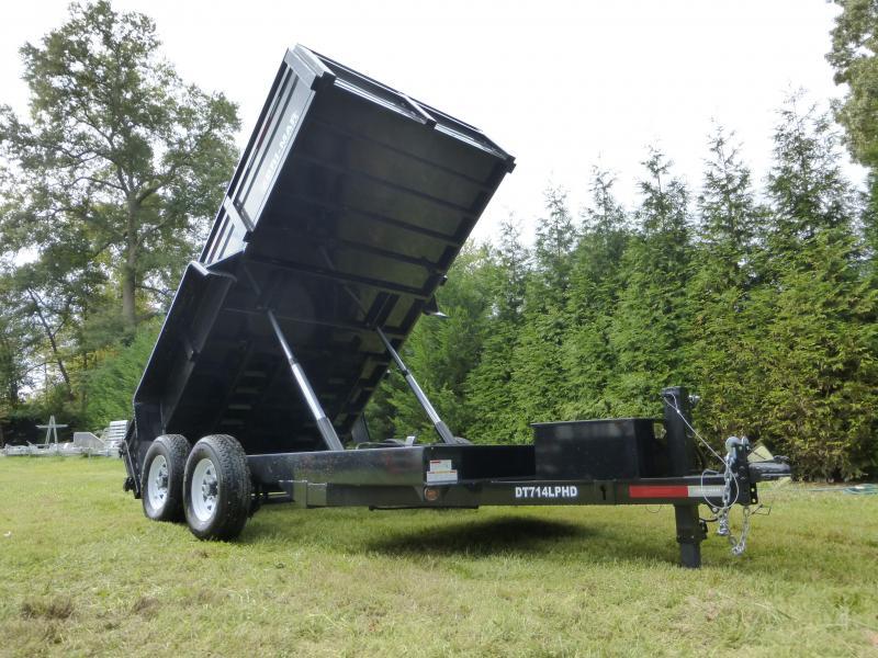 "Bri-Mar 7' x 14' x 20"" Dump Trailer-14K"