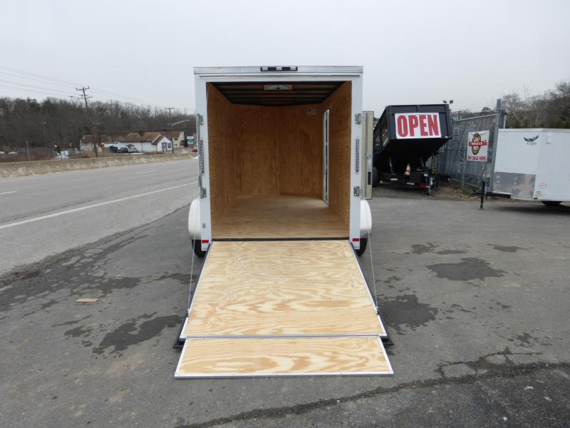 Covered Wagon 6' x 10' V-Nose Enclosed Cargo Trailer w/Ramp