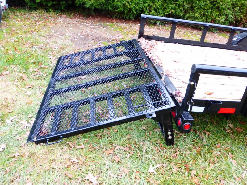 Big Tex 7' x 20' Pipetop Landscape Trailer w/HD Gate