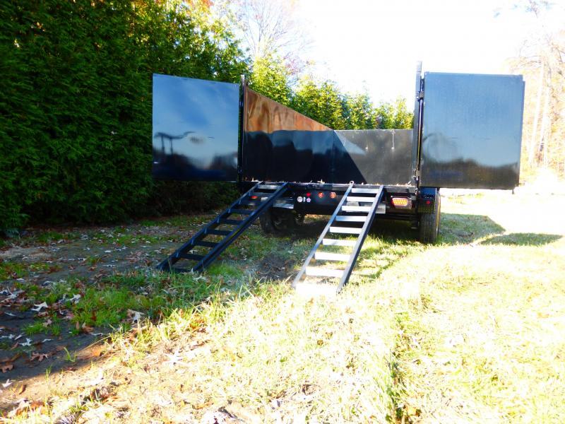 "Big Tex 7' x 14' x 48"" Dump Trailer"