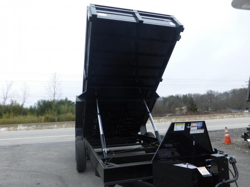 "Bri-Mar 7' x 16' x 20"" Dump Trailer-14K"