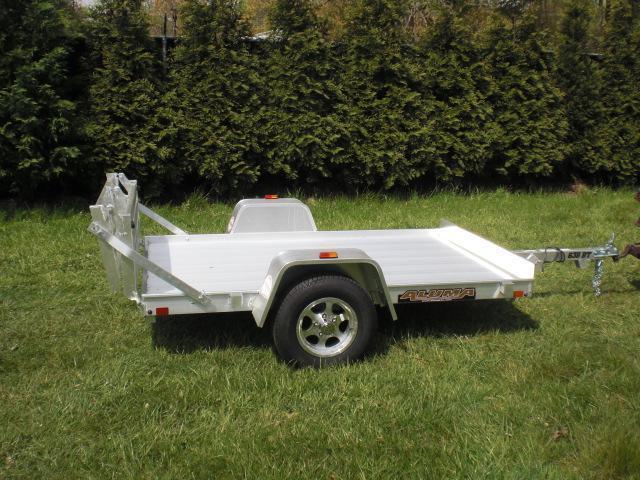 "Aluma 63"" x 8' Utility Trailer w/ Bi-fold Tailgate"