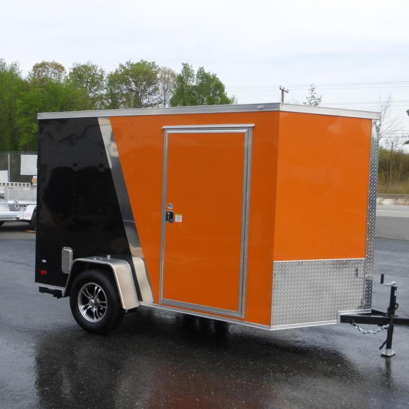 Diamond Cargo 6' X 12' Beige Enclosed Trailer W/ Ramp