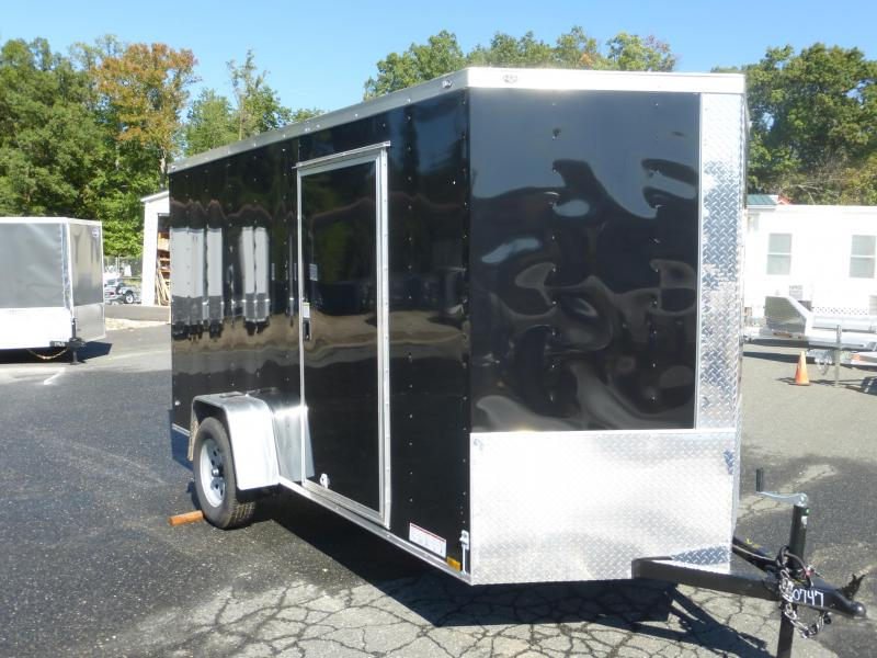 Diamond Cargo 6X10SA Enclosed Cargo Trailer with Ramp