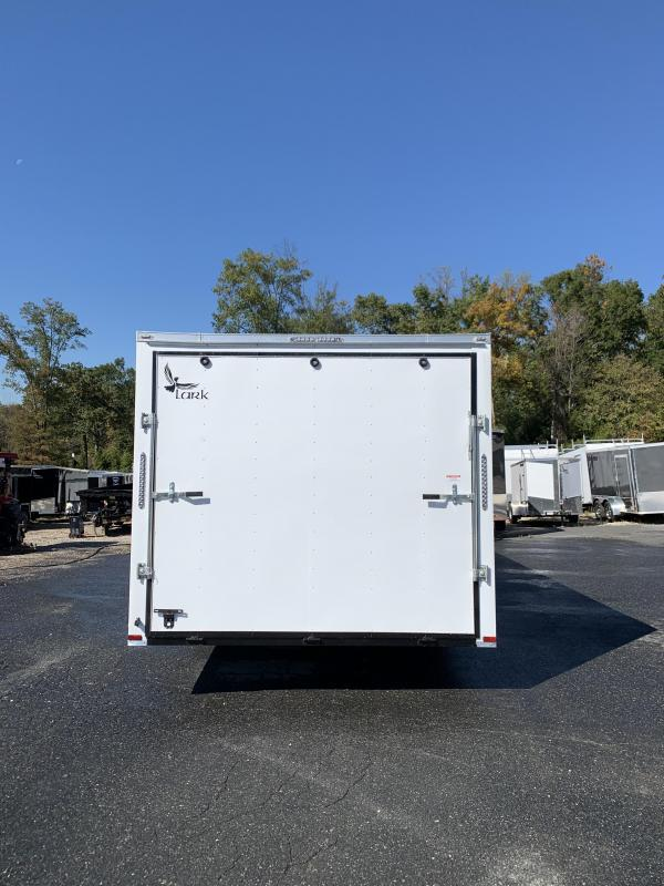 10K Lark 8.5' x 24' Enclosed Car Hauler w/ Escape Door & Torsion Axles