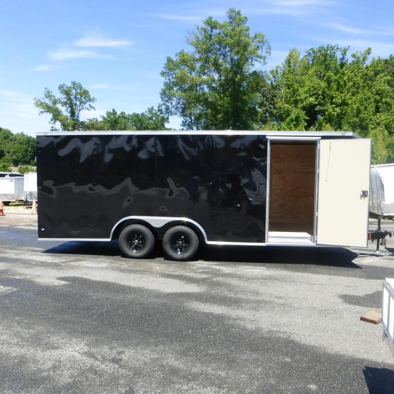 Lark 8.5 X 20 Black Enclosed Cargo Trailer