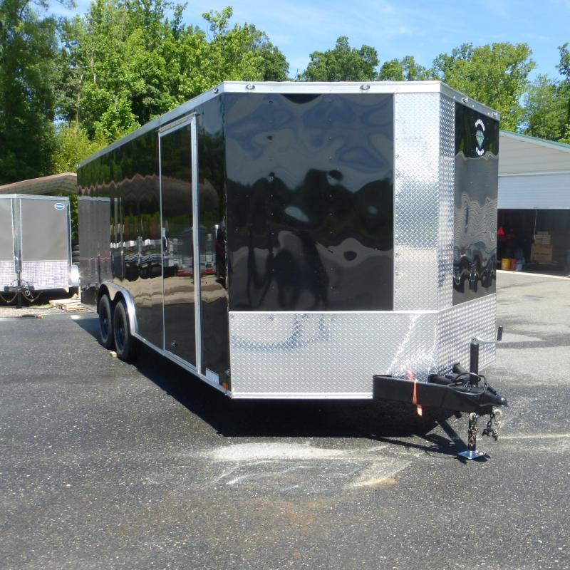 Diamond Cargo 8.5 X 20 Black Enclosed Cargo Trailer