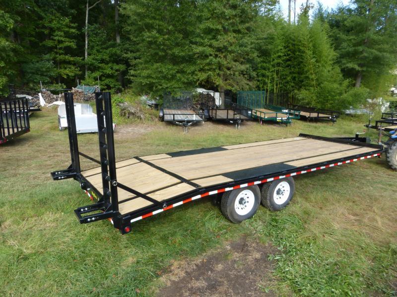 Dovetail Utility Trailer 7 X 20: Big Tex 8.5' X 22' Deckover Equipment Trailer W/8' Slide