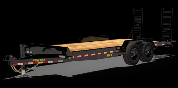 Big Tex 7' x 16' Equipment Trailer