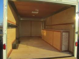 United Trailers 8.5' x 16' Enclosed Trailer w/Tool Crib & Electrical  Package