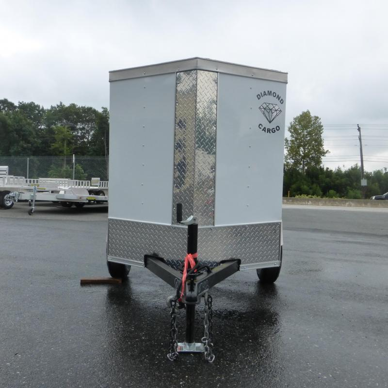 Covered Wagon 4' x 6' V-Nose Enclosed Cargo Trailer - 2K