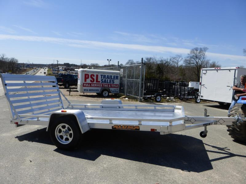 "Aluma 77"" x 10' 3K Aluminum Utility Trailer"