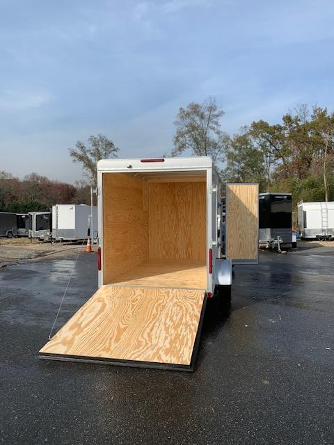 Car Mate 6' x 10' Enclosed Cargo Trailer with Ramp