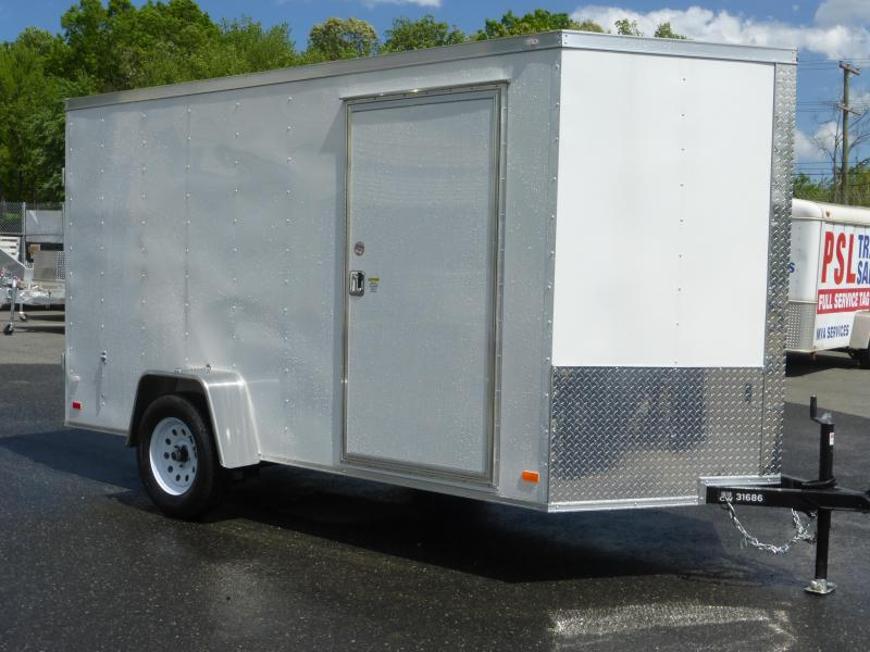 Diamond Cargo 6' x 12' Enclosed Cargo Trailer with Cargo Doors