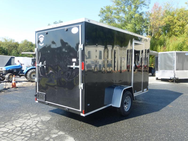 Diamond Cargo 6X12SA Enclosed Cargo Trailer with Ramp